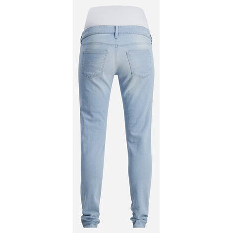 QUEEN MUM  Slim Umstandsjeans  Light Stone Wash 2
