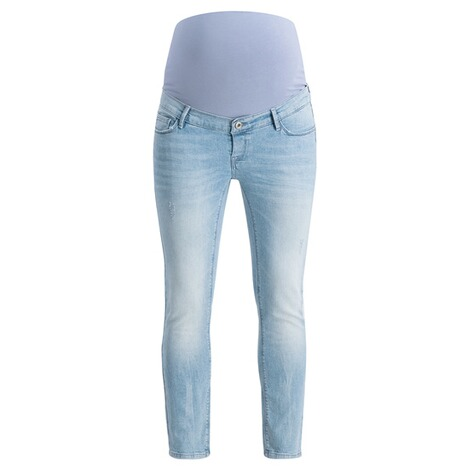 NOPPIES  Slim Umstandsjeans Mila  Light Blue Denim 1
