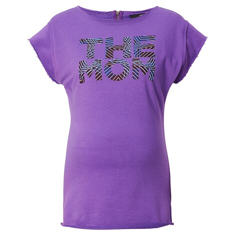 SUPERMOM  T-shirt Purple  Purple 1