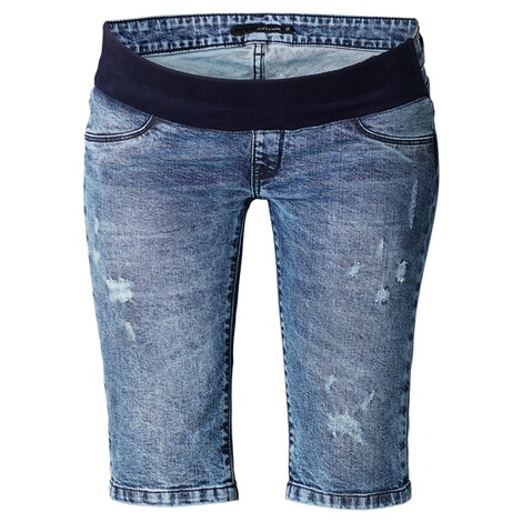 Supermom  Capri Jeans Destroyed  Blue Denim 1