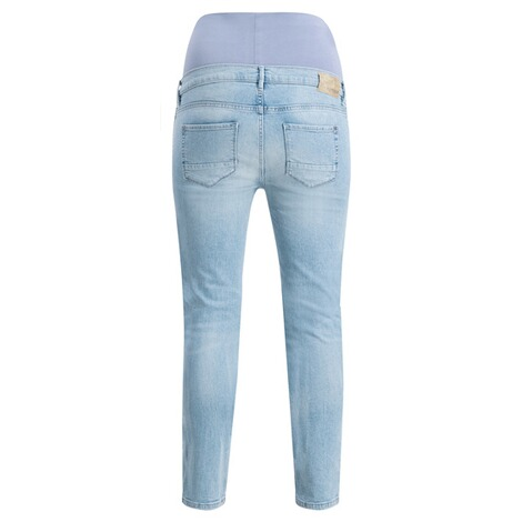 NOPPIES  Slim Umstandsjeans Mila  Light Blue Denim 2