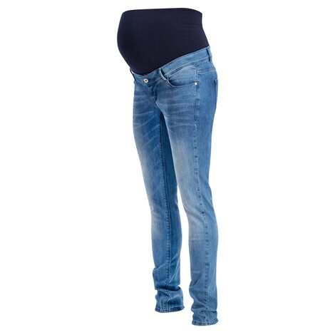 NOPPIES  Slim Umstandsjeans Mila  Blue Denim 3