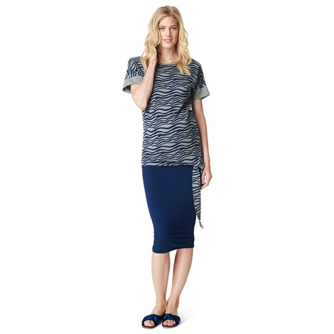 NOPPIES  T-shirt Cara  Grey Melange 4