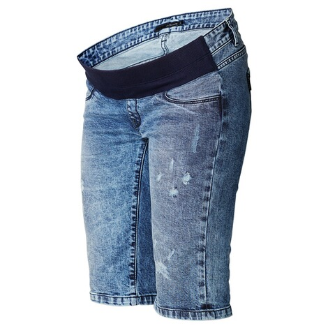 Supermom  Capri Jeans Destroyed  Blue Denim 3