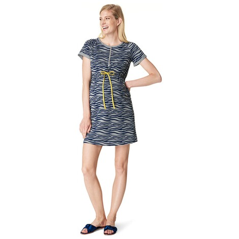 NOPPIES  Still-Kleid Candice  Grey Melange 4