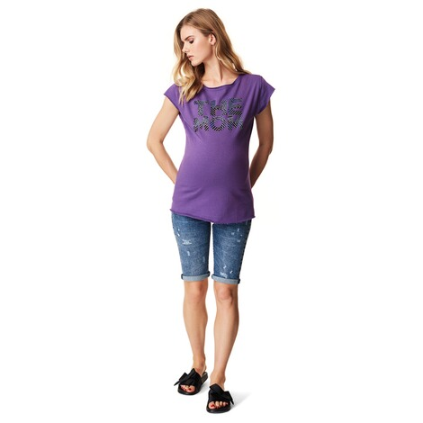 SUPERMOM  T-shirt Purple  Purple 4