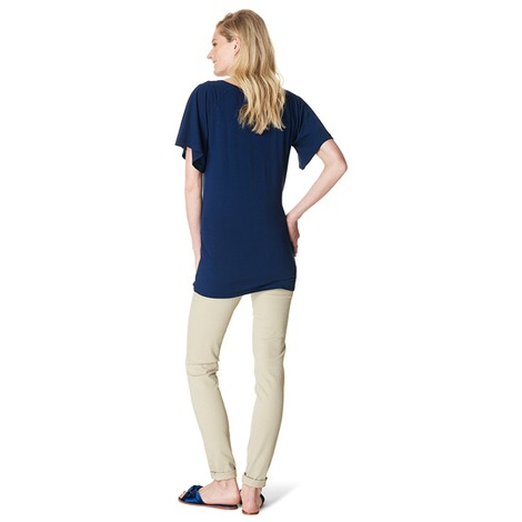 NOPPIES  T-shirt Cate  Midnight Blue 5