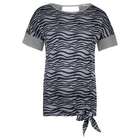 NOPPIES  T-shirt Cara  Grey Melange 1