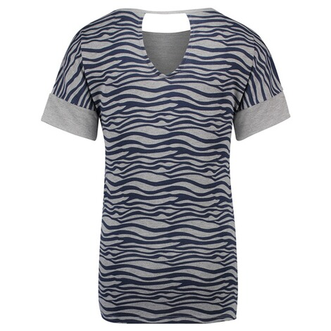 NOPPIES  T-shirt Cara  Grey Melange 2