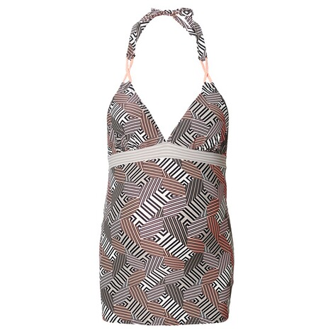 NOPPIES  Tankini Top Claudia  Washed Grey 1