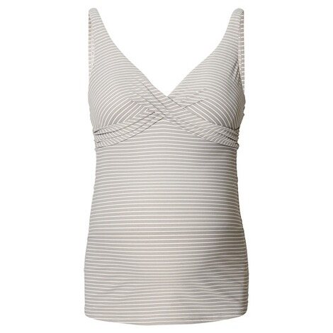 NOPPIES  Tankini Top Cindy  Washed Grey 1