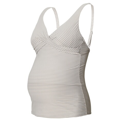 NOPPIES  Tankini Top Cindy  Washed Grey 2