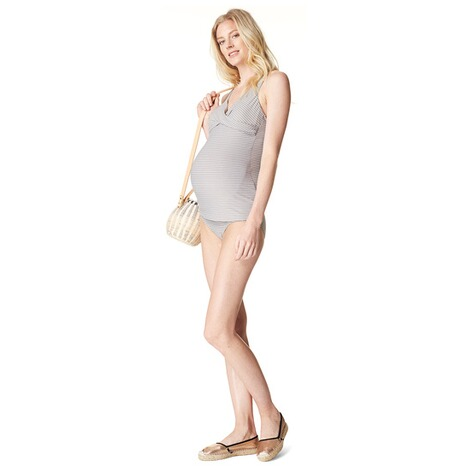 NOPPIES  Tankini Top Cindy  Washed Grey 3