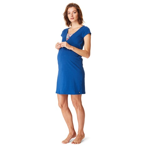 ESPRIT  Still-Nachtkleid  Night Blue 4