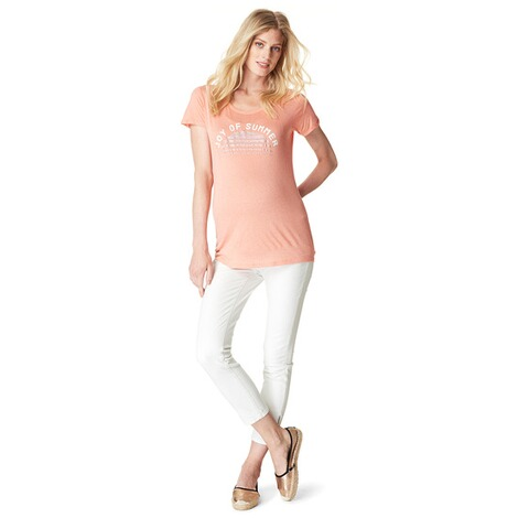 NOPPIES  T-shirt Dorien  Peach 4
