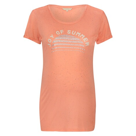 NOPPIES  T-shirt Dorien  Peach 1