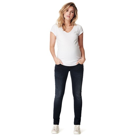 NOPPIES  Slim Umstandsjeans Mila  Midnight Blue 5
