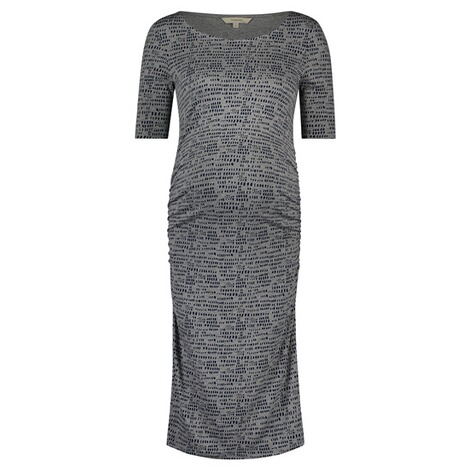 NOPPIES  Kleid Carly  Grey Melange 1