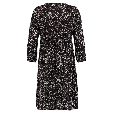 Queen Mum  Still-Kleid  Black AOP 2