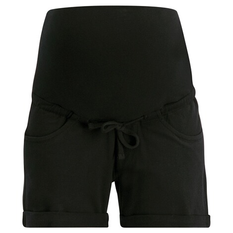 Queen Mum  Umstandsshorts Sweat  Black 1