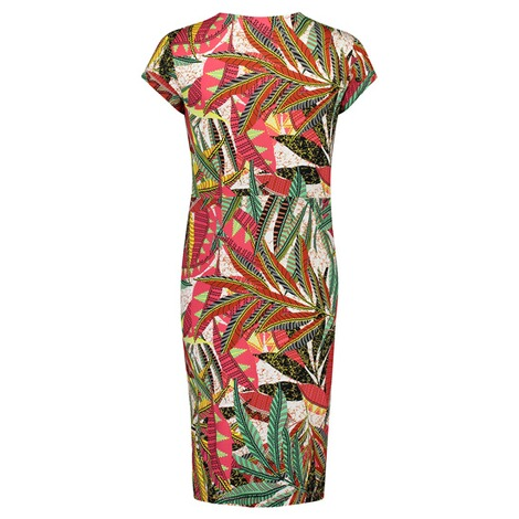Queen Mum  Still-Kleid Jersey  Afrique AOP 2