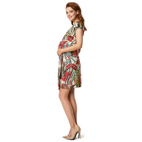Queen Mum  Still-Kleid Jersey  Afrique AOP 8