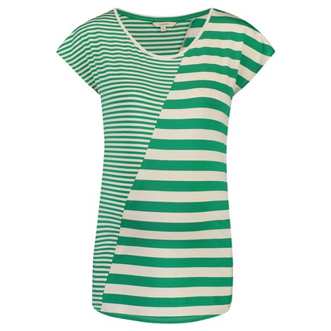 Noppies  T-shirt Pearle  Golf Green Stripe 1