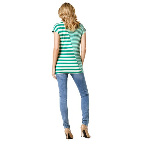 Noppies  T-shirt Pearle  Golf Green Stripe 7