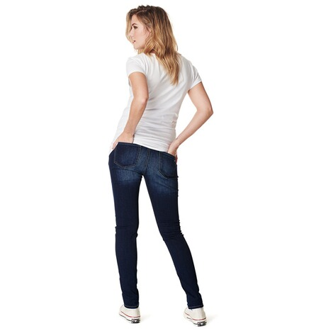 Noppies  Slim Umstandsjeans Mila Plus  Everyday Blue 3