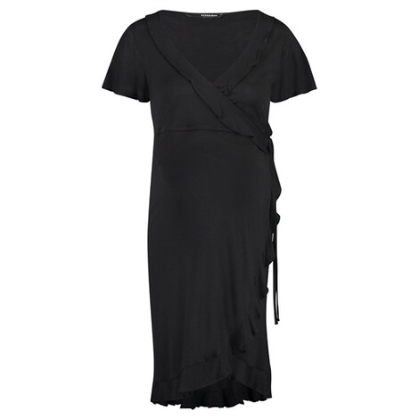 Supermom  Kleid Wrap Black Nurs  Black 1