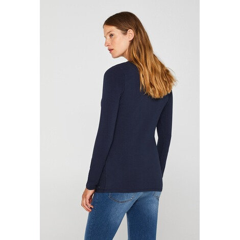 ESPRIT  Langarmshirt  Night Blue 4