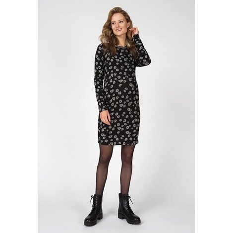 SupermomKleid Poppy  Black AOP 7