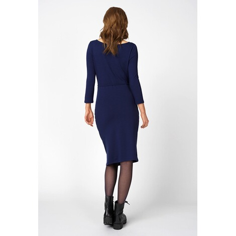 Queen Mum  Kleid  Medieval Blue 4