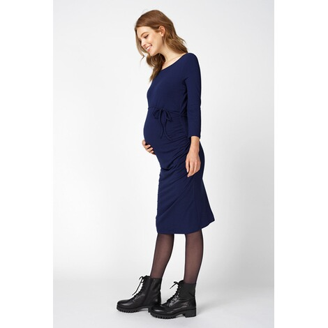 Queen Mum  Kleid  Medieval Blue 5
