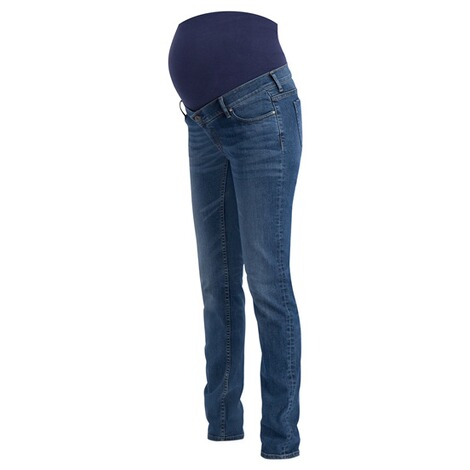 NoppiesStraight Umstandsjeans Beau  Authentic Blue 5