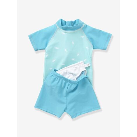 vertbaudet uv badeanzug mit innenslip zweiteiler online kaufen baby walz. Black Bedroom Furniture Sets. Home Design Ideas