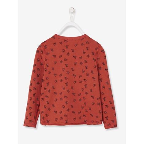 569b645d95ace9 Vertbaudet Jungen Wende-Shirt Cowboy online kaufen