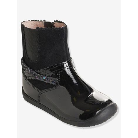 61cbb5bb6cd306 Vertbaudet Mädchen-Boots mit Gummizug online kaufen