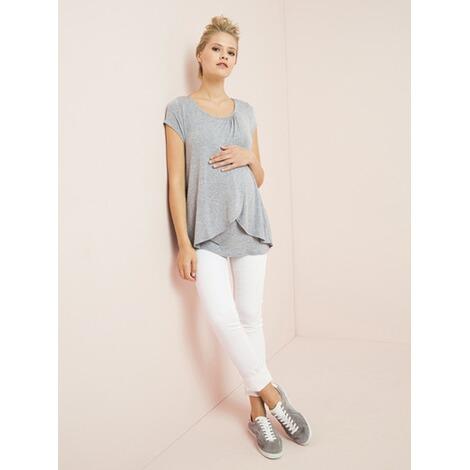 Schrittl/änge 78 cm schwarz 44 VERTBAUDET Umstands-Jeans Slim-Fit