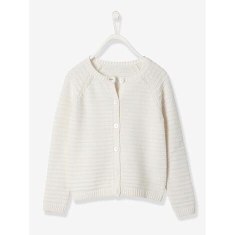 8e28184ef234cf VERTBAUDET Strickjacke für Mädchen mit Baumwolle online kaufen ...