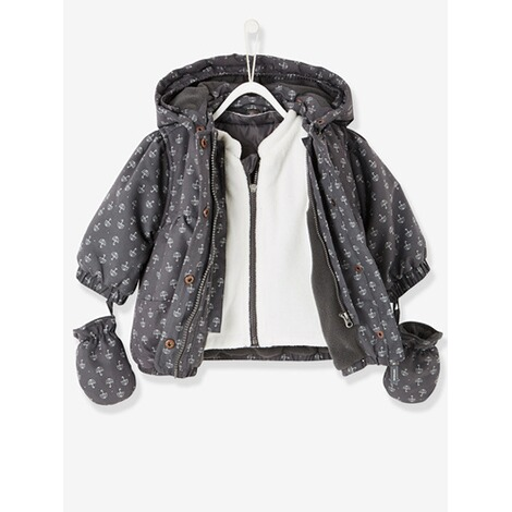 3 in 1 parka madchen