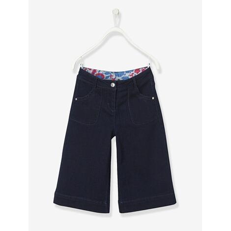 Vertbaudet Hosenrock für Mädchen Denim online kaufen   baby-walz 9735a9dd10