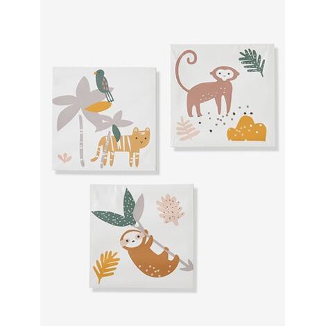VERTBAUDET 3er-Set Bilder für Kinderzimmer Dschungel online kaufen ...