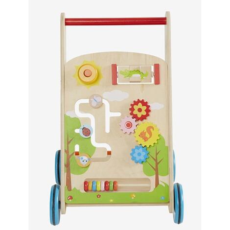 Vertbaudet Lauflernwagen Mit Spielcenter Holz Online Kaufen Baby Walz