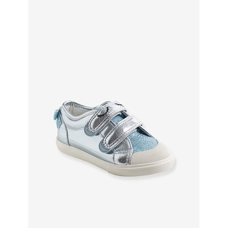 sports shoes 24fa9 f70bc Vertbaudet Klett-Sneakers Mädchen Anziehtrick champagner