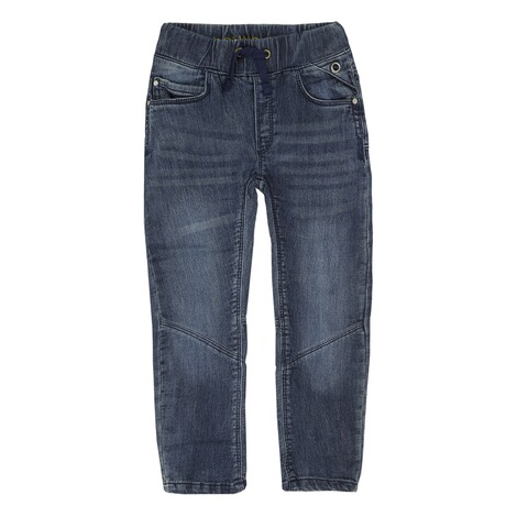 Bellybutton  Jeanshose Tunnelzug Used Look, bis Gr. 128  blue denim 1