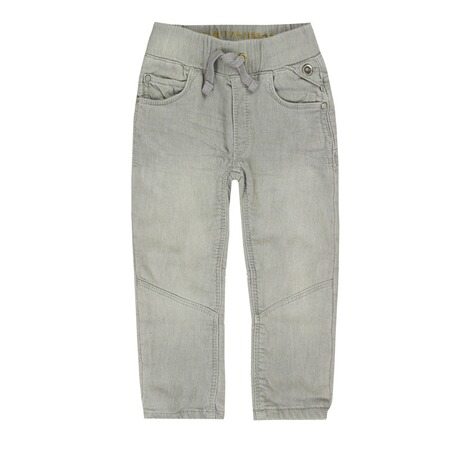 Bellybutton  Jeanshose Tunnelzug Used Look, bis Gr. 128  mid grey denim 1