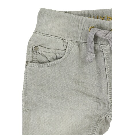 Bellybutton  Jeanshose Tunnelzug Used Look, bis Gr. 128  mid grey denim 3