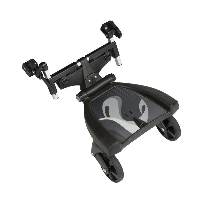 BuggyBoard nutzbar von 2-5 Jahre Sitz extra breites Trittbrett Fillikid Filliboard Wide SET inkl Kiddyboard mit Zusatzsitz Rollbrett Universell f/ür alle g/ängigen Kinderwagen /& Buggy