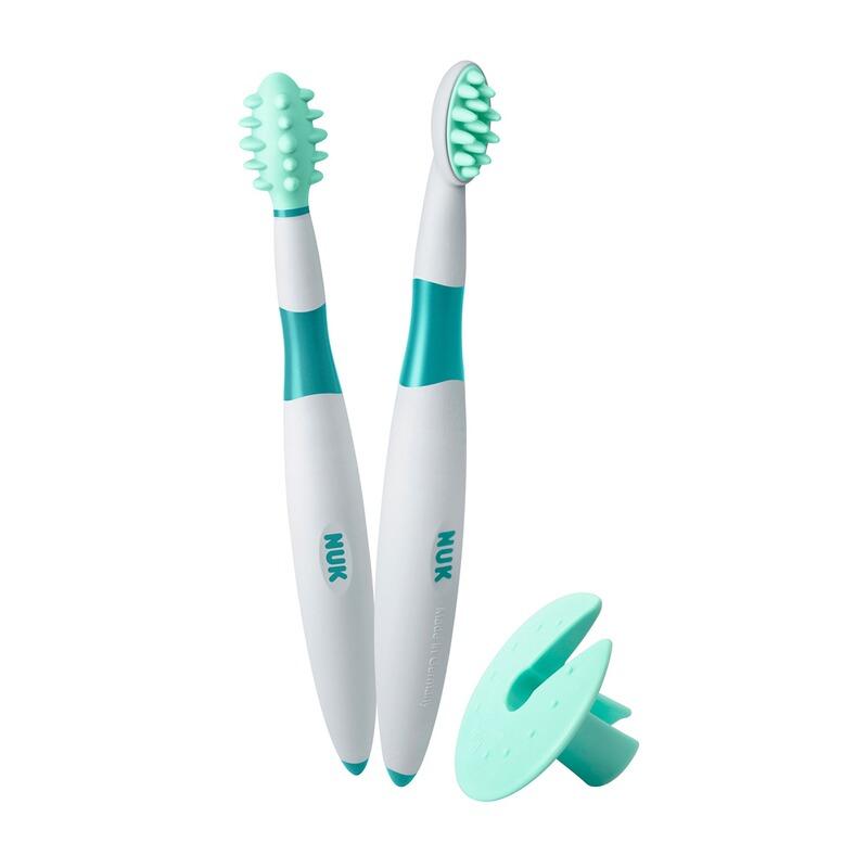 2-tlg. Lern-Zahnbürste